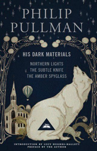 His Dark Materials: Gift Edition including all three novels: Northern Light, The Subtle Knife and The Amber Spyglass by Philip Pullman http://www.amazon.co.uk/dp/1841593427/ref=cm_sw_r_pi_dp_pmZDub0AT53DW