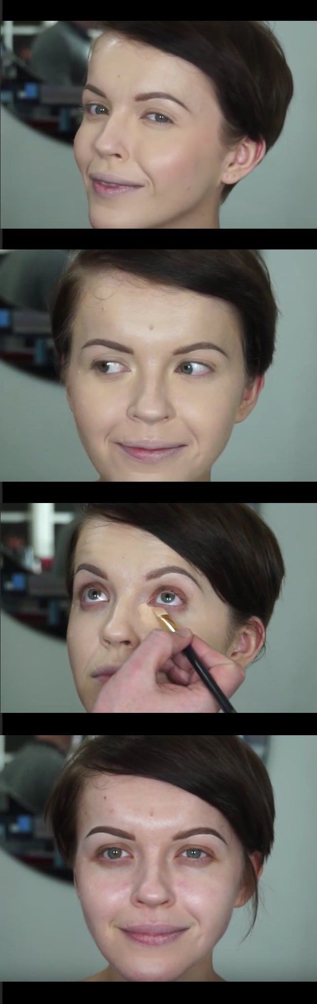 33 Makeup Tips and Tricks To Make You Look Less Tired - Cover Extreme Under Eye Darkness and Getting Flawless Skin- Eye Bags and Oily Skin? Check Out These Makeup Tips and Tricks to Make You Look Less Tired. Great Tips, Beauty Products and How Tos for All Types of Faces - thegoddess.com/makeup-tips-look-less-tired