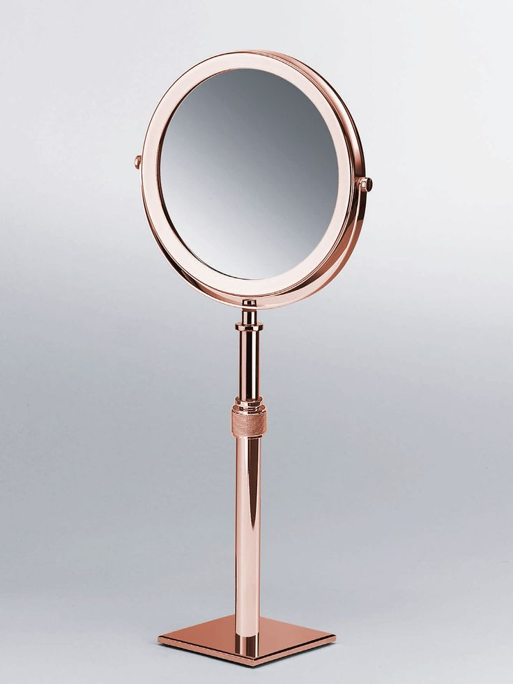 Magnifying Make Up U0026 Shaving Mirror   Copper Bathroom Accessories