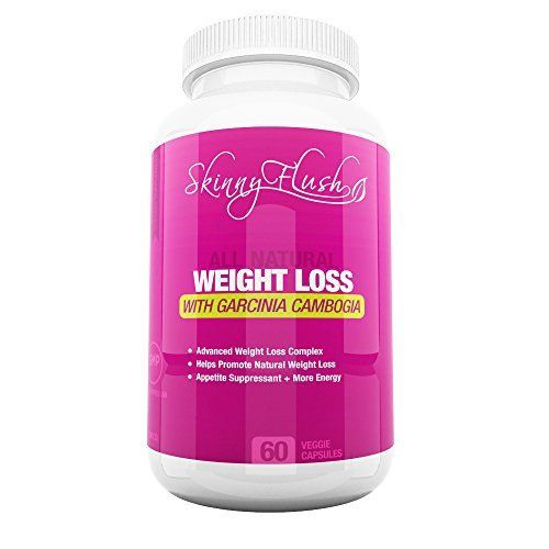 Skinny Flush - Diet Pills That Work Fast - Best Weight Loss Supplement with 100% Pure Raspberry Ketones - For Men