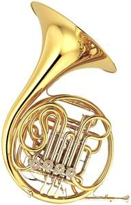 Triple French Horn. I will play one of these one day. I can only imagine how heavy it is.