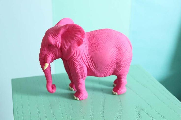 69 best Pink Elephants images on Pinterest | Elephants, Pink ...