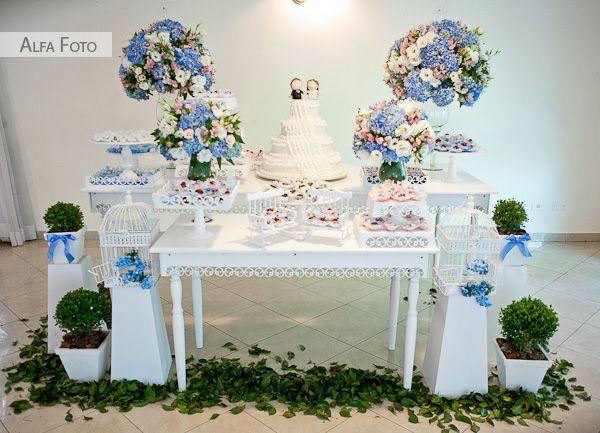 Chá no Jardim: Casamento Provençal {Decoração}