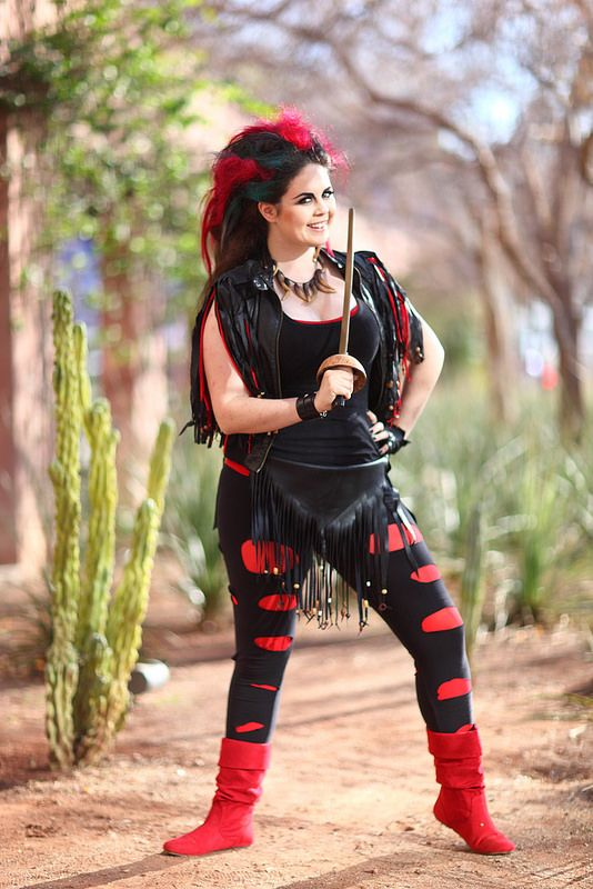 Devan Weitzman as Rufio!! 2014 Amazing Arizona Comic Con (AACC) #Rule63