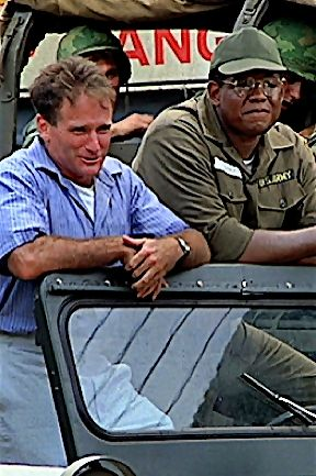 Good Morning, Vietnam (1987) Robin Williams as Adrian Cronauer Forest Whitaker as Edward Garlick