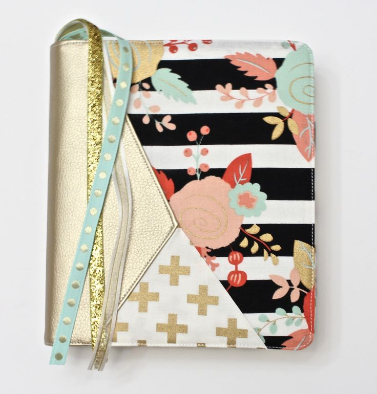 This Custom Bible Cover features a unique Geometric Design so your Bible Cover will bring you just the right amount of joy. You are purchasing a made-to-order Geometric Journaling Bible Cover. Pick from the selections in the pictures.  ✔️Select Bible Size: Single Column, Double Column Only, Inspire NLT Teal Hardback and Soft back (Normal Print only), Custom (See below)***  ✔️Select Charm Loop Option: A loop to at the top, A Loop at the bottom of a Ribbon, or No Charm Loop  ✏️Pick Faux…