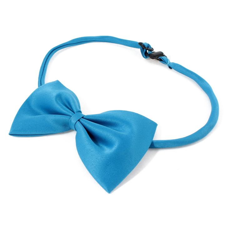 >> Click to Buy << Practical 2 Pieces Adjustable Dog Doggie Puppy Collar Bowtie Bow Ties Dodger Blue #Affiliate