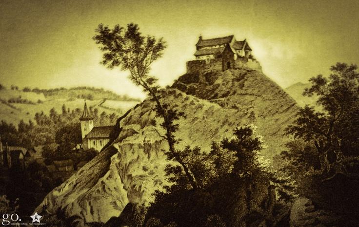 biserica fortificată din cisnădioara /  Ludwig Rohbock