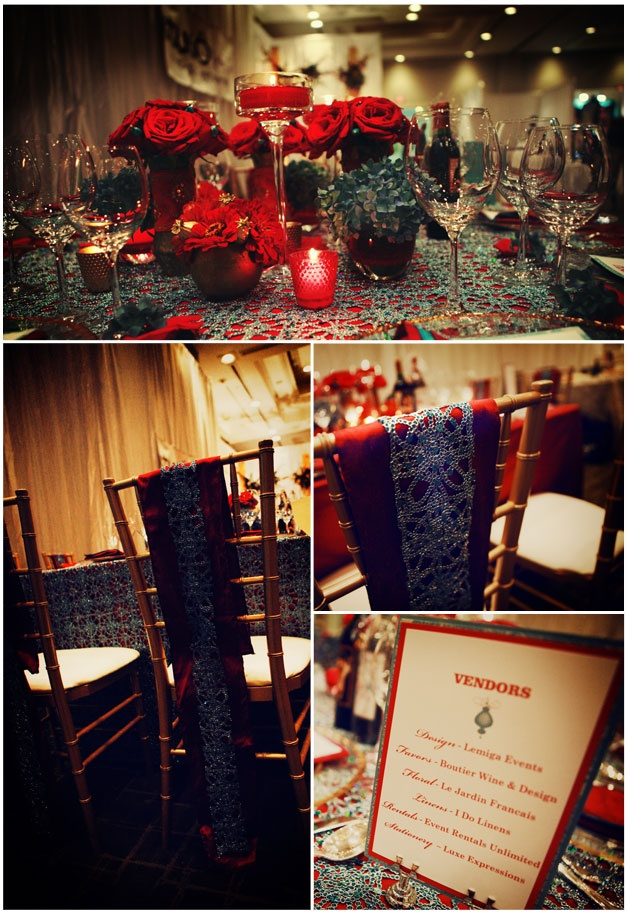 Indian Wedding table Scape