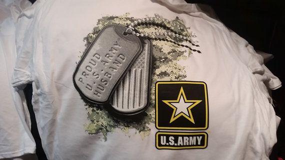 proud  u.s. army husband father papa  tag  army t-shirt gift t