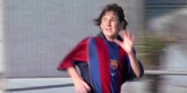 Quand Messi était ado, il marquait déjà beaucoup de buts (VIDEO)