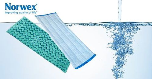 Avoiding sticky floors: The first step in avoiding sticky floors is to look at your cleaning solution. It is important to read the label as some with colors or scents may leave a sticky residue. That will attract more dirt and make your work harder.  The second step is choosing the right mop. Mops come in different materials and absorbencies that impact water and cleaning solution retention as well as what types of floors they clean best. Want a simple solution? Try water and a Norwex mop!