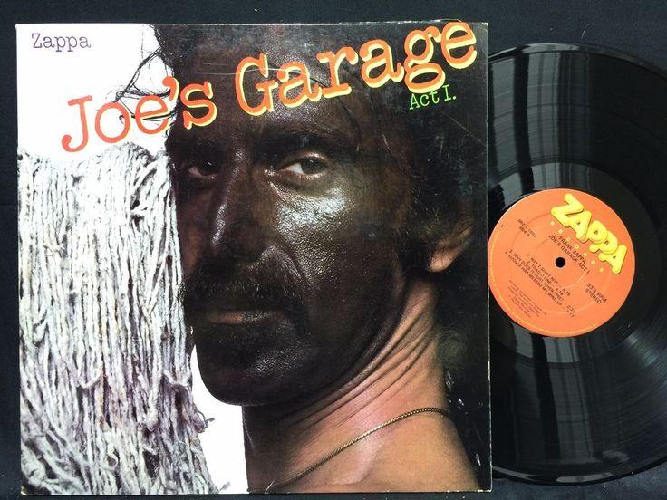 Frank Zappa – Joe's Garage Act I SRZ-1-1603 US 1979 LP #Vinyl Record
