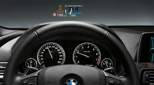BMW 3 Series gets 'full-color' heads-up display -- Engadget