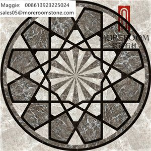 Beautiful Pattern Marble Design, Water Jet Natural Marble for Hall Design, Waterjet Medallion Natural Marble, Waterjet Marble Flooring Design, Marble For Villa, Flooring Medallion, Chinese Marble Round Water Jet Designs. Cut-to-size Natural Marble Medallion. Moreroom Stone : www.moreroomstone.com Maggie: sales05@moreroomstone.com