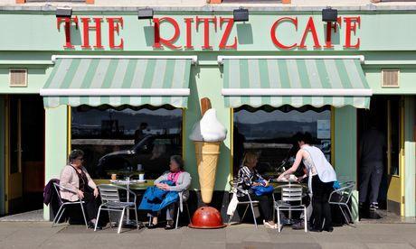 The Ritz, Millport. Photograph: Alamy