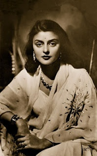 Gayatri Devi (23 May 1919 − 29 July 2009), often styled as Maharani Gayatri Devi, Rajmata of Jaipur, was born as Princess Gayatri Devi of Cooch Behar. She was the third Maharani of Jaipur from 1939 to 1970 through her marriage to HH Maharaja Sawai Man Singh II. Following India's independence and the subsequent abolition of the princely states, she became an extremely successful politician.