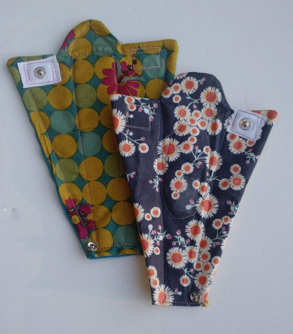 Diy Cloth Pads Tutorial: Pattern For 2 Washable, Reusable Sanitary Pads For Thong