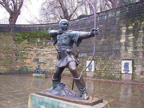 Robin Hood! Nottingham, England