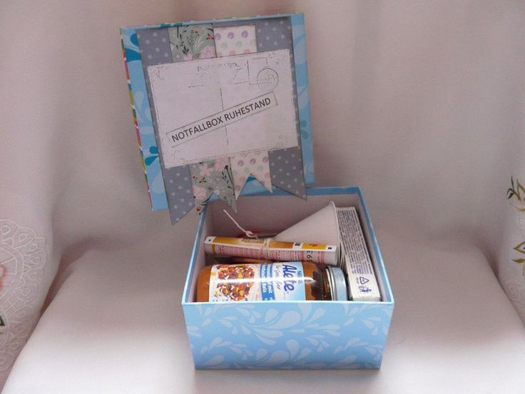 geschenke f r frauen geschenk rente norfall box ein designerst ck von froehlich elena bei. Black Bedroom Furniture Sets. Home Design Ideas