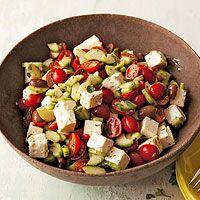 Mediterranean Salad: Cooking Cooking, Waldorf Salad, Recipe Cooking, Mediterranean Salad, Mediterranean Recipe, Yummy Food, Mediterraneansalad, Cooking Guide, Cooking Photo