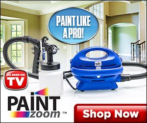 As Seen On TV Paint Zoom - The Ultimate Professional Painting Machine