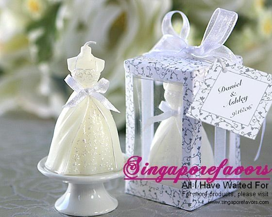 Vela favores de la boda clásica - vela vestido de boda - spanish.alibaba.com