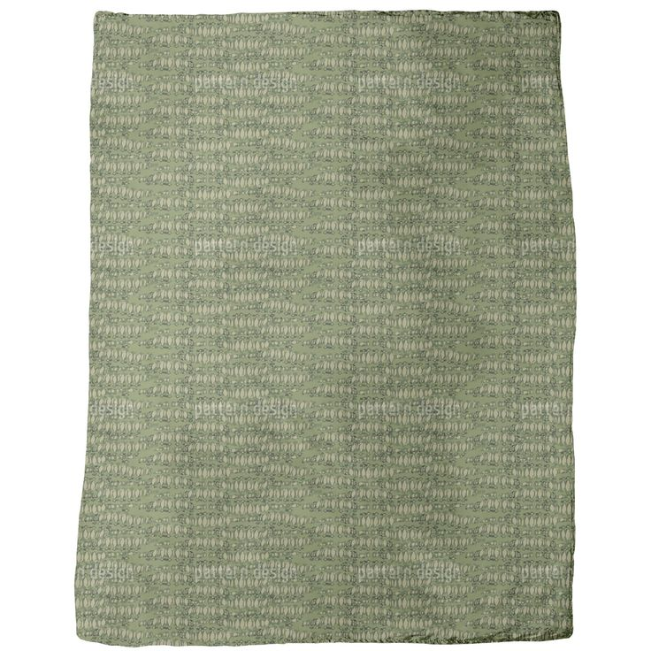 Uneekee Reptilio Green Blanket