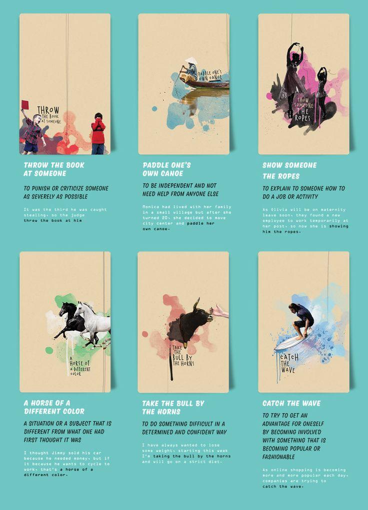 Selman Hoşgör crea fantastiche illustrazioni per spiegare i più comuni idiomi inglesi #idiomi #inglese #lingue #illustrazione