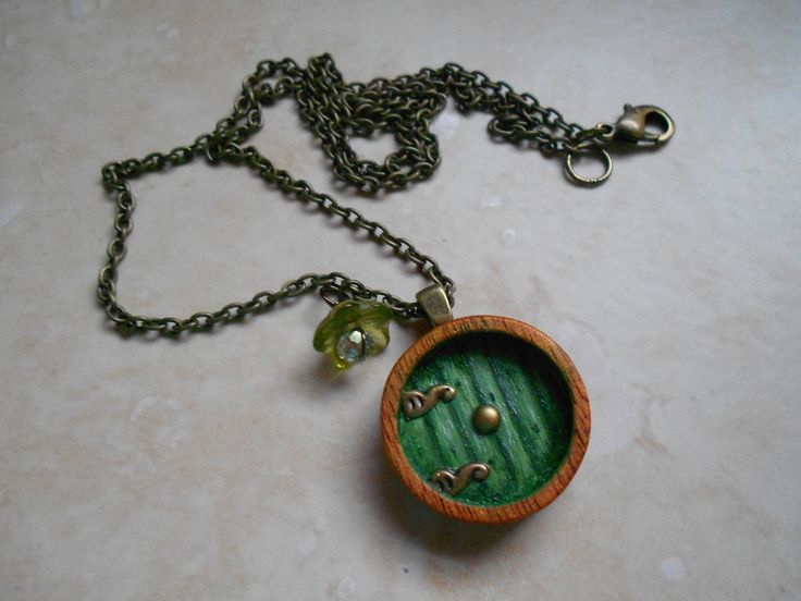 Hobbit Door Necklace  Available at Nocturnal Purple