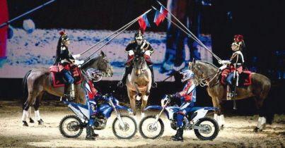 Après avoir fait sensation dans le département en 2015, les cavaliers et chevaux de la Garde Républicaine sont de retour. .