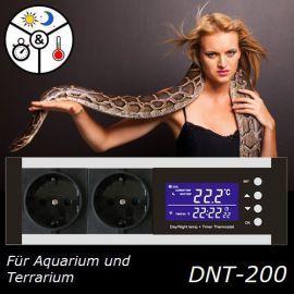Digitaler Thermostat Temperaturregler Thermo Control Heizen/Kühlen Alarmfunktion Zeitschaltuhr Tag-/Nachtbetrieb TX2