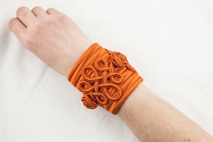 Haute Couture spirit bangle Pumkin orange - EmKha