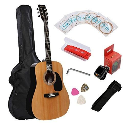 Some really great guitar gear! Full Size Acousti... check it out @ http://guitarisms.com/products/full-size-acoustic-guitar-music-guitar-starter-kit-dreadnought-beginner-package-gloss-natural?utm_campaign=social_autopilot&utm_source=pin&utm_medium=pin