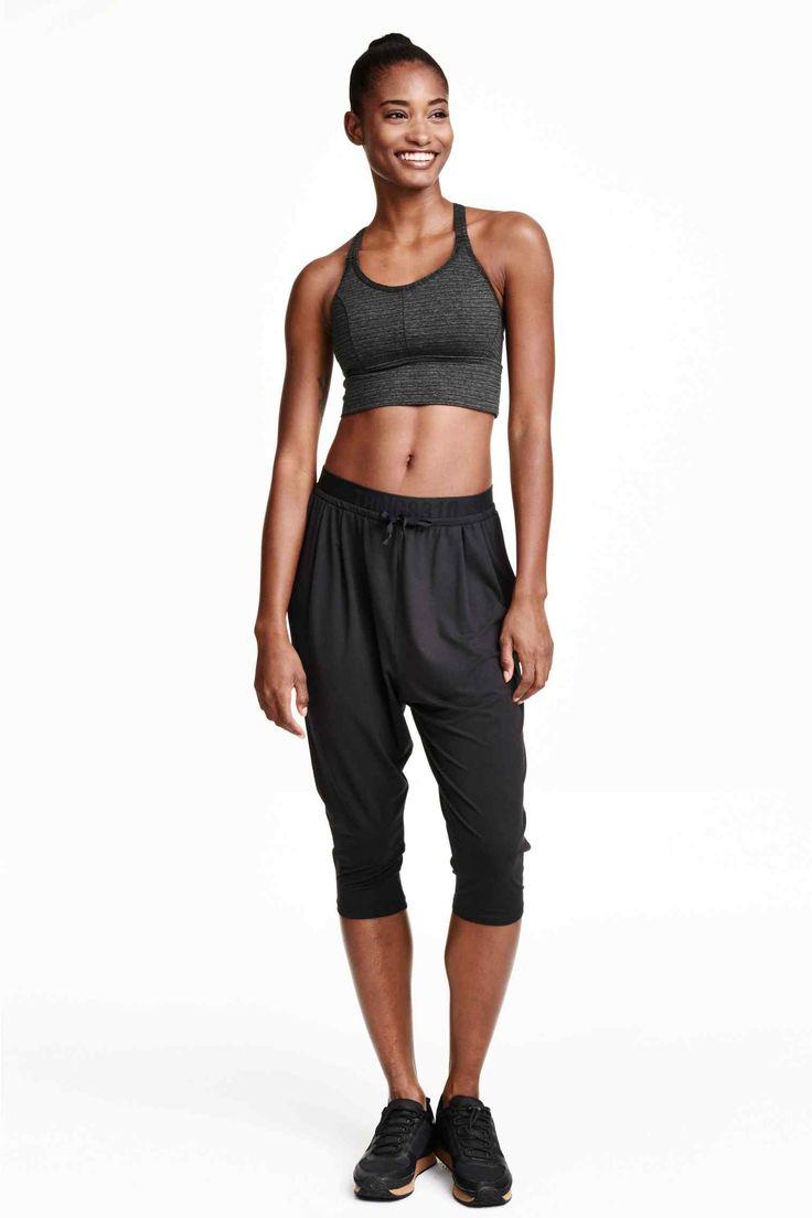Trojštvrťové športové nohavice | H&M