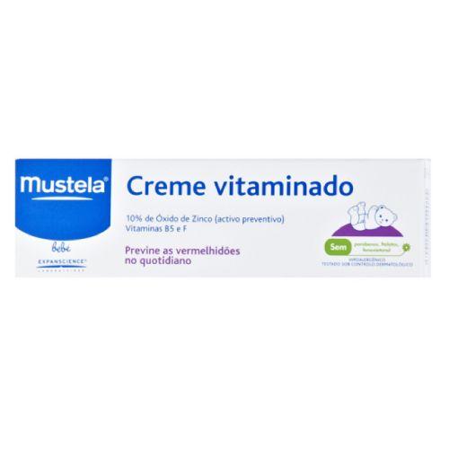 Mustela Mustela crema vitaminas barrie 1.94oz Protege la delicada piel de tu bebé con esta crema suave, vitamina enriquecedor.La crema hipoalergénica es bastante suave y seguro para la piel de su bebé.Efectivamente calma y trata la dermatitis del pañal no deseado.