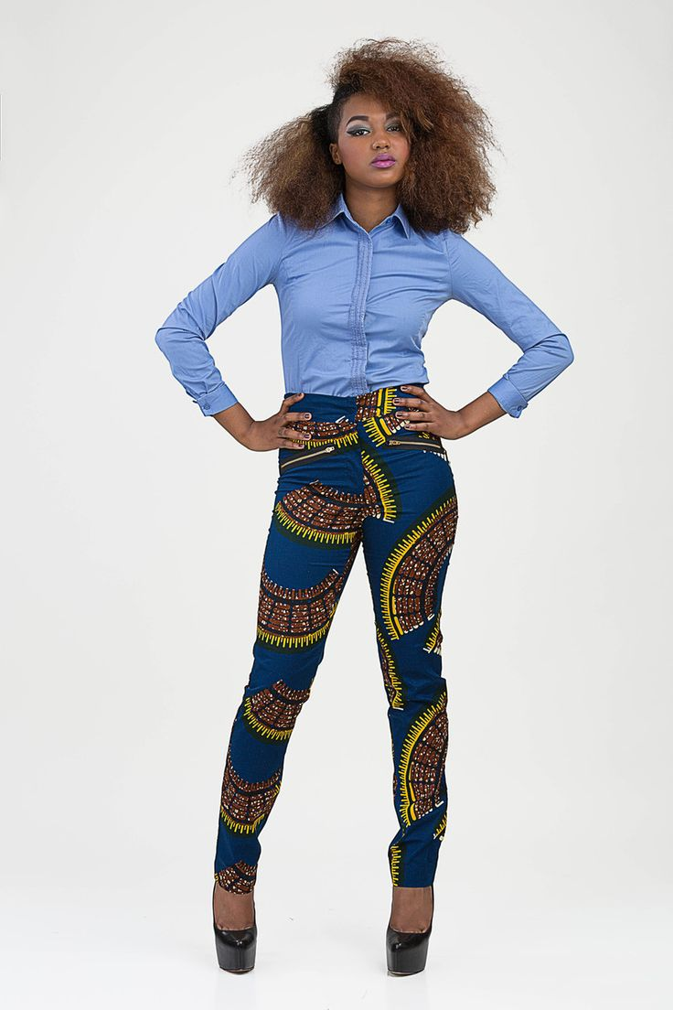 bongolicious pagnifik african print trousers pantalons en pagne wax pour femmes pinterest. Black Bedroom Furniture Sets. Home Design Ideas