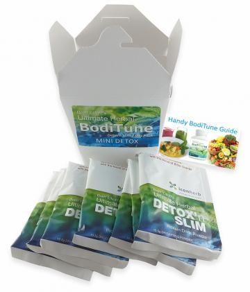 BodiTune Detox n Slim 7 day mini detox
