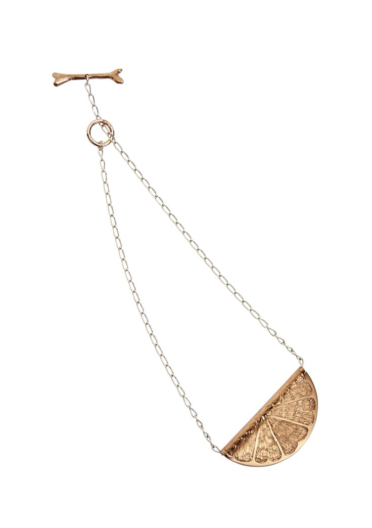 Lucy Folk presents ALL SORTS - Resort 13/14 - CITRICO NECKLACE