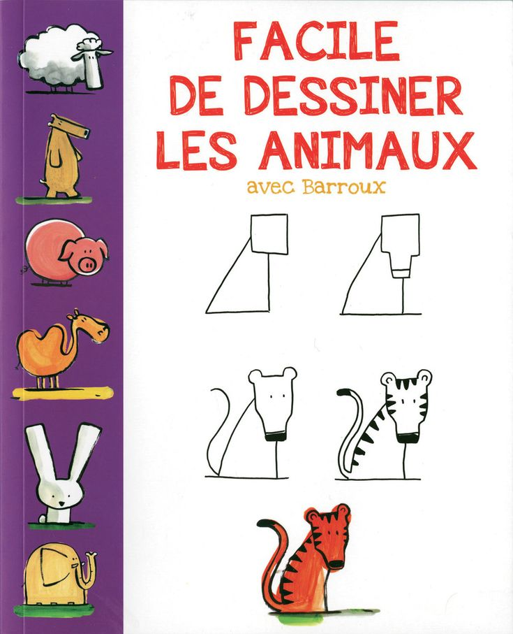63 best petits extras images on pinterest - Animaux facile a dessiner ...