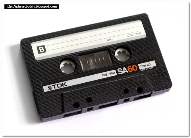 Cassette tapes to record songs from the radio!