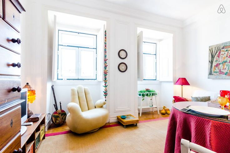 Check out this awesome listing on Airbnb: Central Apartment w/shared kitchen  - Apartments for Rent in Lisbon