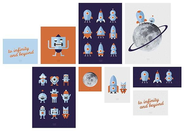 To infinity and beyond on Behance