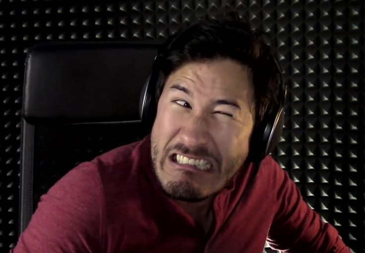 "Markiplier's ""Game face"" in HuniePop"