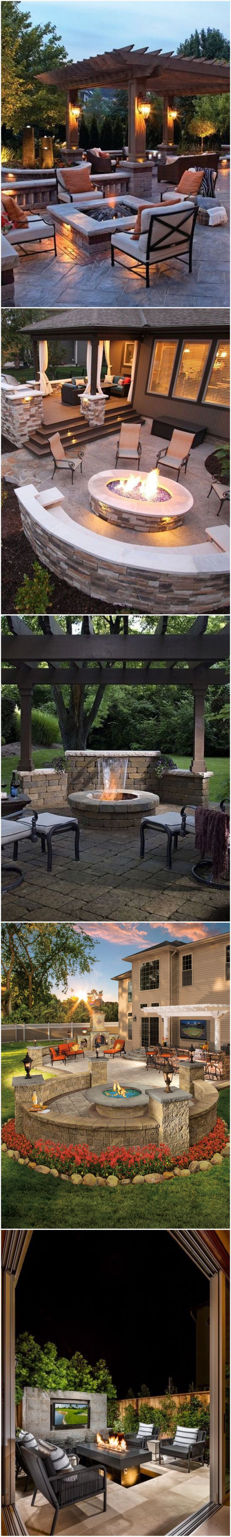 Outdoor  fire pits design Ideas