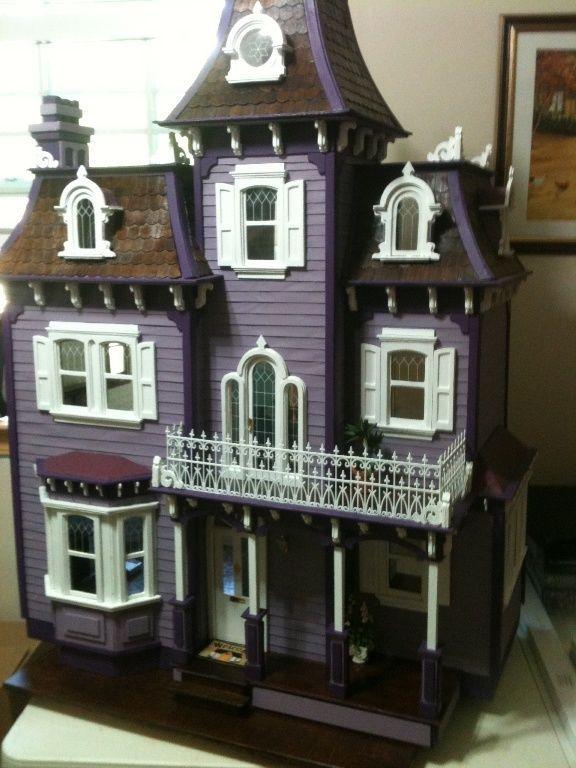 1:12 Greenleaf Beacon Hill wood dollhouse large mansion. Brand New!