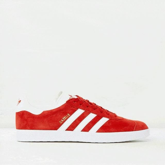 It's the shoe of the moment - the Gazelle sneakers by adidas Originals are  live on
