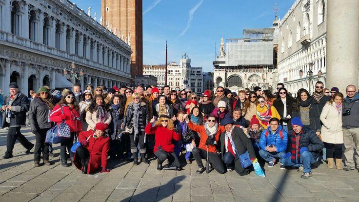 Fotografía: Guía Gonzalo  y Marcia Nascimento - Venecia. 1 de Enero 2016- Venecia