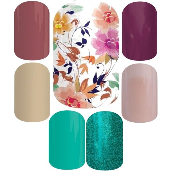Jamberry Nail Combos - Sunday Brunch by lynnhermance - lynnhermance.jamberrynails.net