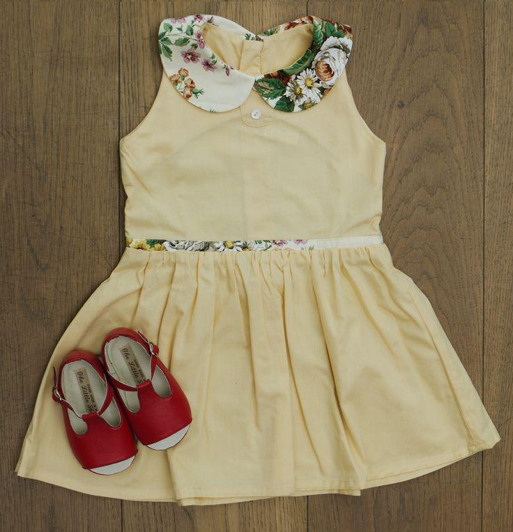 Limited Edition Vintage Dress, £60 BubbleChops Exclusive Bobby Shoes, £60